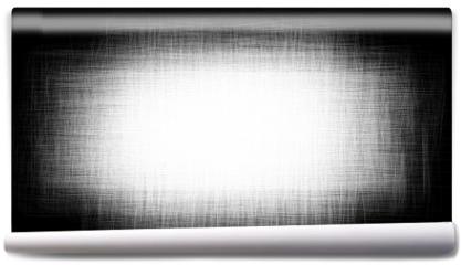 Fototapeta - Black-and-white shaded background. Vector pattern