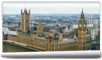 Fototapeta - 3917_The_back_view_of_the_Palace_of_Westminster_in_London.jpg