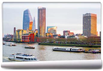 Fototapeta - Cityscape of London, River Thames