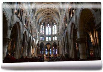 Fototapeta - Paris; France - april 2 2017 : the Saint Severin church