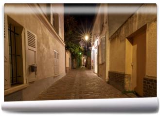 Fototapeta - Paris. Old street on the Montmartre hill.