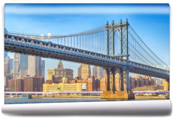 Fototapeta - Manhattan Bridge.