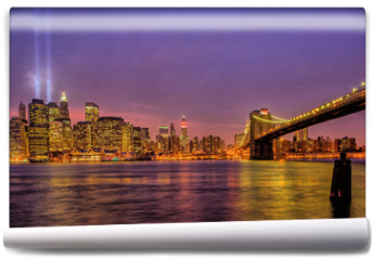 Fototapeta - New York City Brooklyn bridge