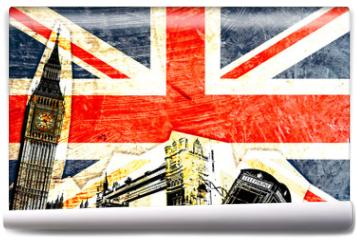 Fototapeta - drapeau anglais
