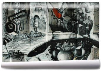 Fototapeta - graffiti