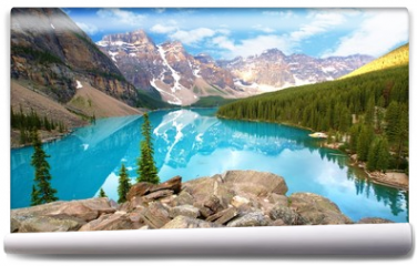 Fototapeta - moraine lake