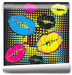 Fototapeta - pop art design
