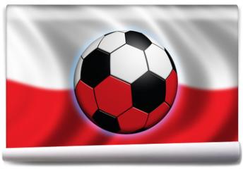 Fototapeta - soccer in poland