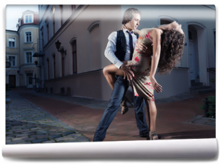 Fototapeta - Tango on the street