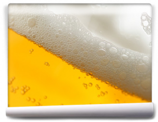 Fototapeta - beer with froth