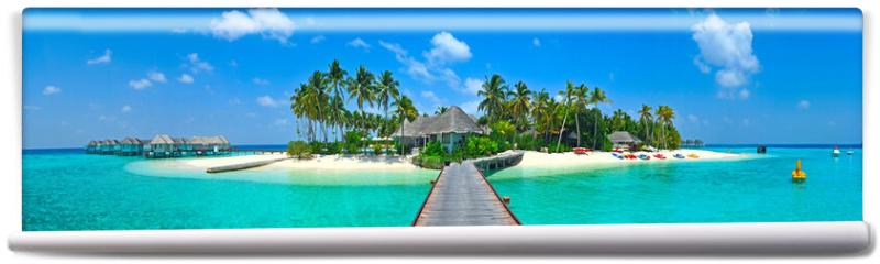 Fototapeta - Maldives island Panorama