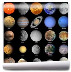 Fototapeta - The solar system
