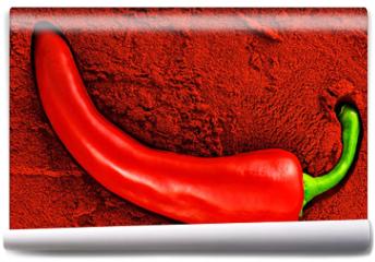 Fototapeta - Tandoori, red chili pepper