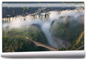 Fototapeta - Cascate vittoria Zambia