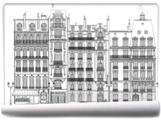 Fototapeta - Paris - Facades