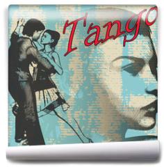Fototapeta - Tango Dance Background