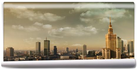 Fototapeta - Warsaw panorama