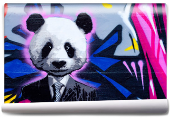 Fototapeta - Suited panda