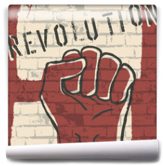 Fototapeta - Revolution! vector illustration, EPS10