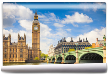 Fototapeta - Big Ben and Houses of Parliament