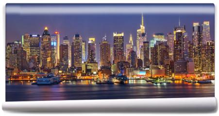 Fototapeta - Manhattan at night