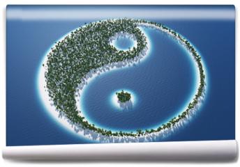 Fototapeta - Yin und Yang - Insel Konzept 3