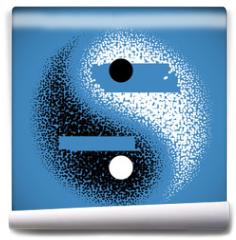 Fototapeta - Yin Yang symbol