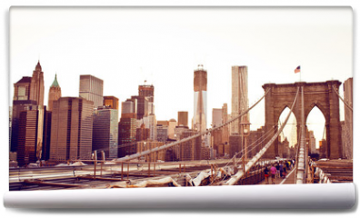 Fototapeta - Brooklyn Bridge in New York
