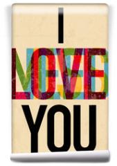 Fototapeta - Valentine's Day type text calligraphic