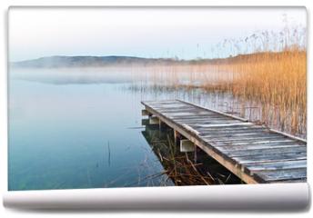 Fototapeta - Irish lake before sunrise