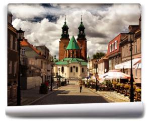 Fototapeta - Cathedral in Gniezno, Poland