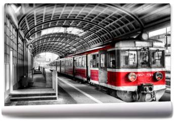 Fototapeta - train