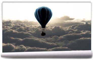 Fototapeta - air balloon on sky