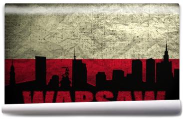 Fototapeta - View of Warsaw