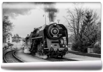 Fototapeta - Steam train