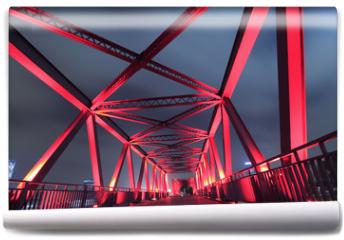 Fototapeta - Steel bridge close-up