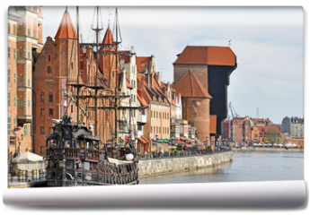 Fototapeta - Old town of Gdansk