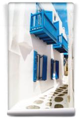Fototapeta - Traditional greek house on Mykonos island, Greece