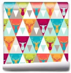 Fototapeta - Hipster style seamless pattern.