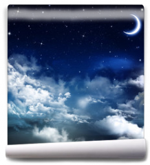 Fototapeta - beautiful background, nightly sky