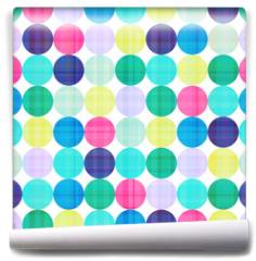 Fototapeta - seamless circles background texture