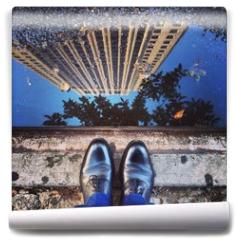 Fototapeta - my shoes on 50th st