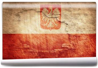 Fototapeta - Poland flag
