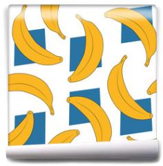 Fototapeta - banana pattern