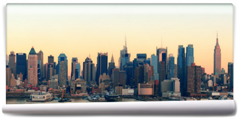 Fototapeta - New York City sunset