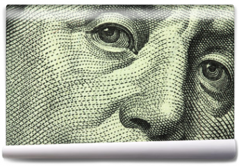 Fototapeta - one hundred dollar bill closeup