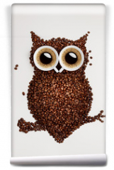 Fototapeta - Coffee owl.