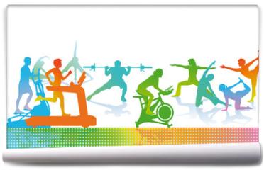 Fototapeta - Fitness und Sport