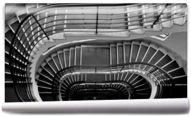 Fototapeta - Dark staircase