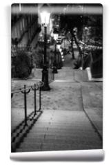 Fototapeta - Escalier de Montmartre